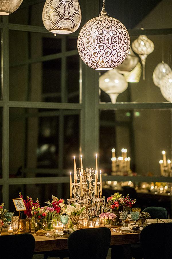 Mesa velas boda - Finca El Campillo