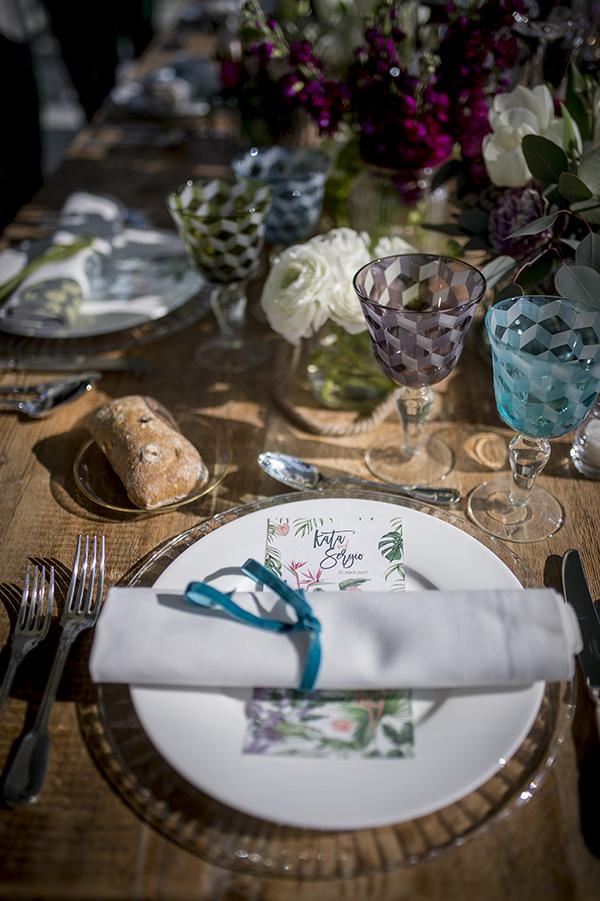 Montaje mesa - Finca El Campillo